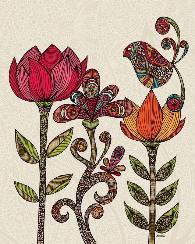Decor, Valentina Ramos, Gardens Throw, Polyester Throw, Throw Pillows, Denis Design, Products, Design Home, Gardens Pillows