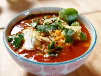 Pioneer Woman Slow Cooker Mexican Chicken Soup | Tisha Jarboe | Copy Me That