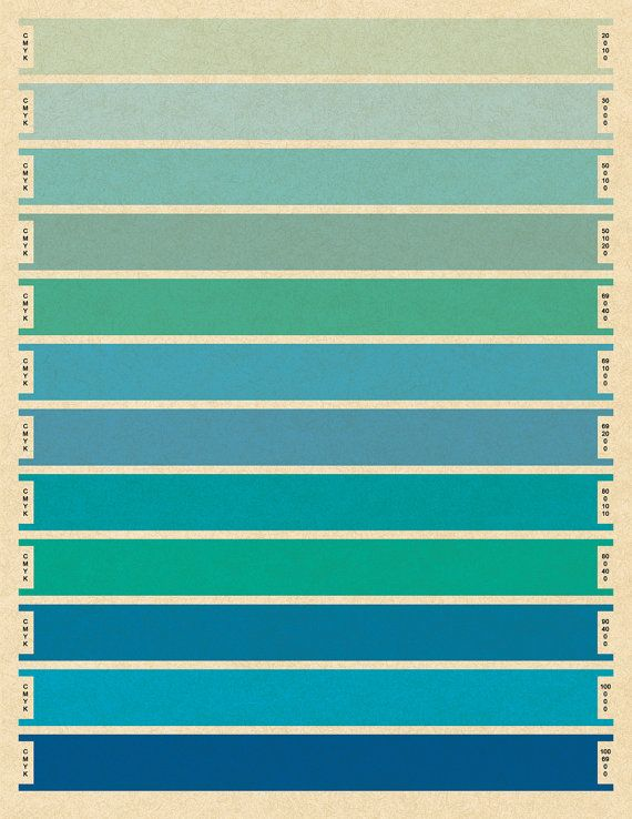 74 best Art Chart images on Pinterest Color palettes, Color - cmyk color chart