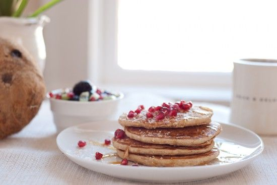 coconut-pancakes-recipe  easy and so good!