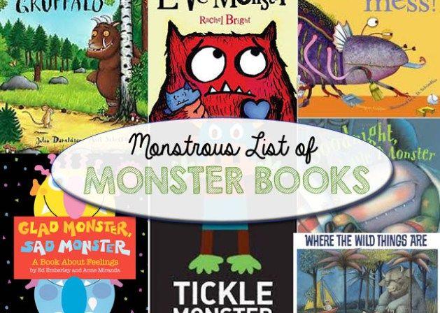 Monstrous List of Monster Books for Kids