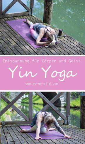 Mit einem einfachen Yin Yoga Flow zu mehr Entspannung