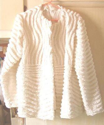 pinterest chenille jacket   Chenille Jacket
