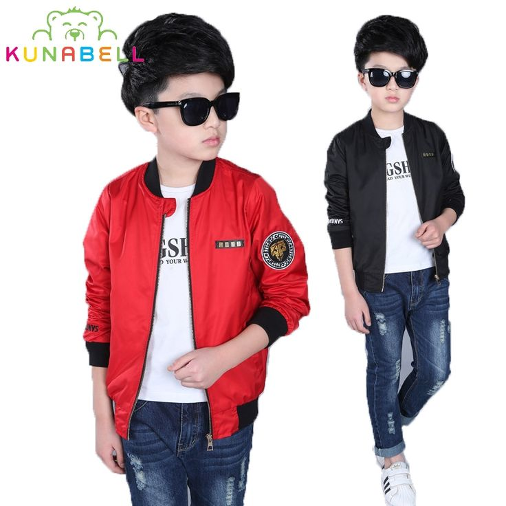 Brand Spring Autumn Jackets for Boy Teenager Coat Bomber Jacket Army Green Boy's Windbreaker Jacket Kids Children Jacket L387