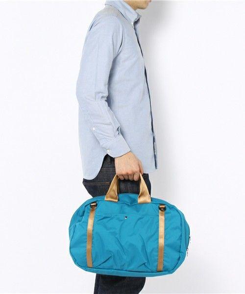 hobo(ホーボー)のhobo - Light Weight Nylon Boston Bag(ボストンバッグ) 詳細画像