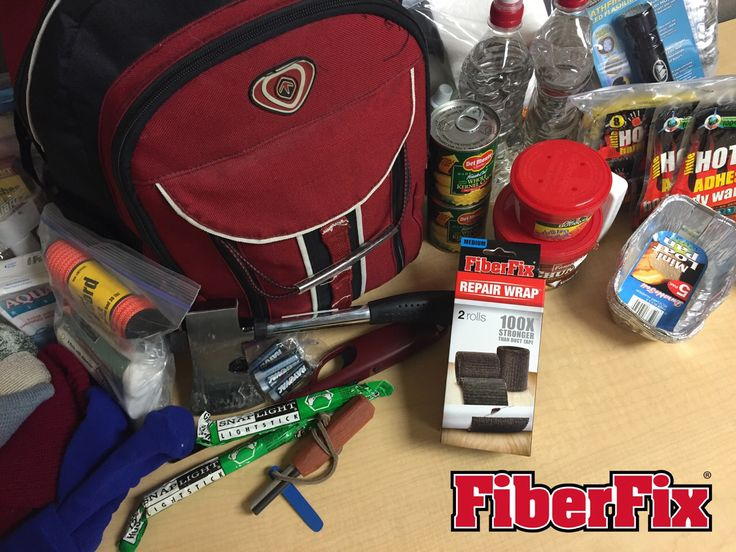 Add FiberFix Original Repair Wrap to your 72 hour kit. Activate with water and FiberFix Original Repair Wrap will harden like steel. We do not advise using for medical repairs. #fiberfix #fiberfixit #nowyoucanfixanythingl