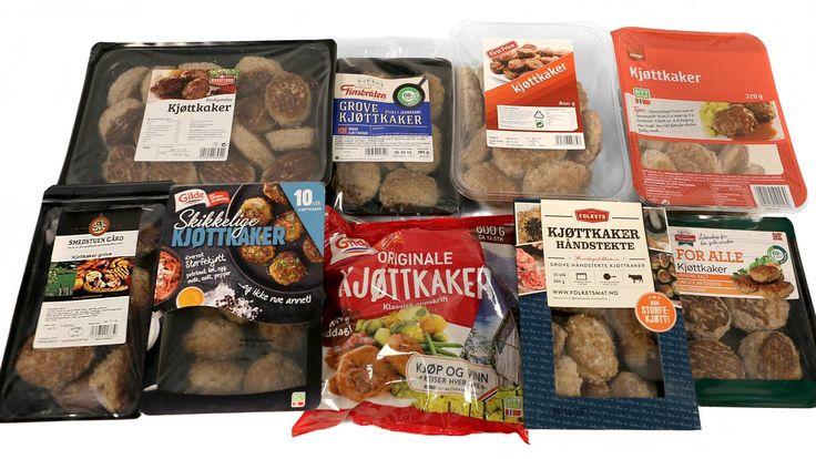 Test av ni typer kjøttkaker - Aftenposten