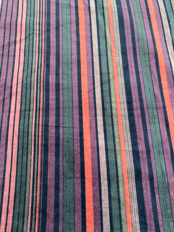 2 plus yds Home Decor Fabric Linen Fabric Summer Upholstery Fabric Striped Fabric