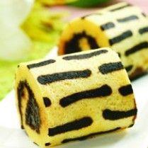 BOLU GULUNG KUKUS GARIS COKELAT http://www.sajiansedap.com/mobile/detail/11786/bolu-gulung-kukus-garis-cokelat