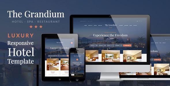 Grandium - Responsive WordPress Hotel Theme