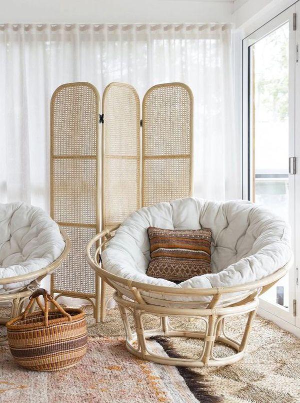 Pin On R A T A N 2020 #papasan #chair #living #room #ideas