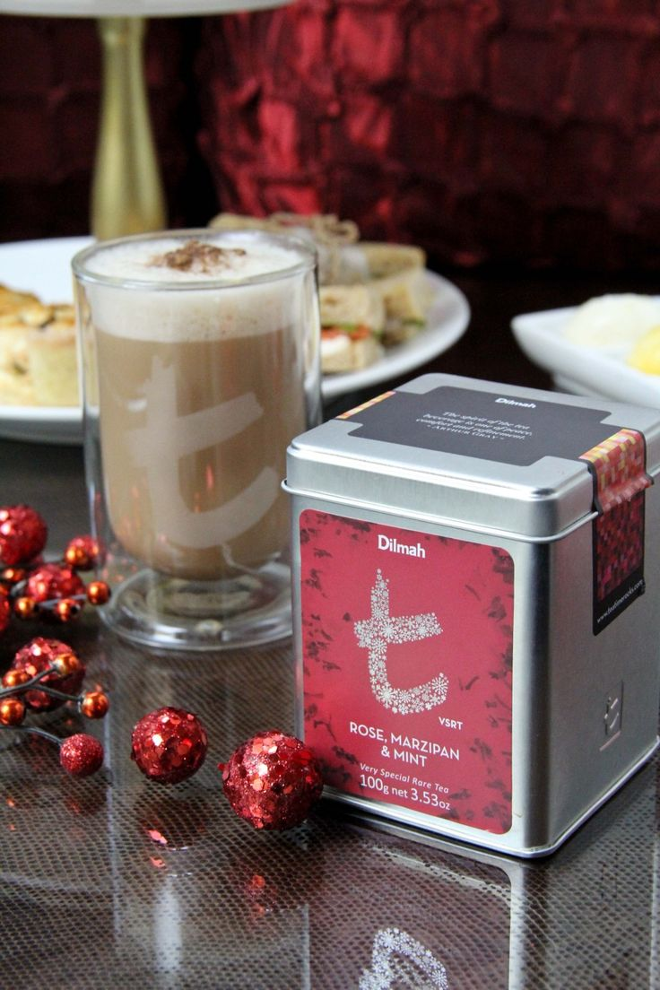 Dilmah Rose Marzipan and High Tea