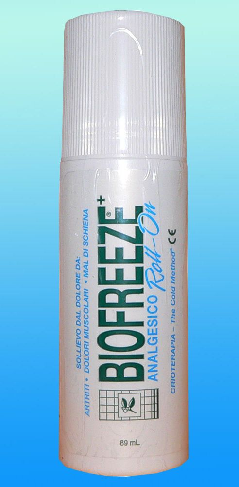Biofreeze Roll-on antiinfiammatorio per dolori articolari e muscolari 89 ml