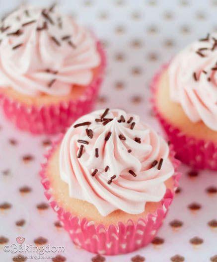 sweet vanilla cupcakes pink cupcakes sweet cupcakes vanilla cupcakes ...