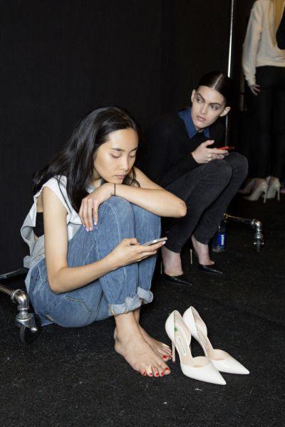 KOREAN MODEL • Kwak Ji Young at Pamela Rolland Spring 2015 NYFW