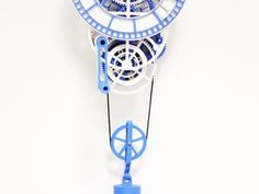 3D printed mechanical Clock with Anchor Escapement by TheGoofy