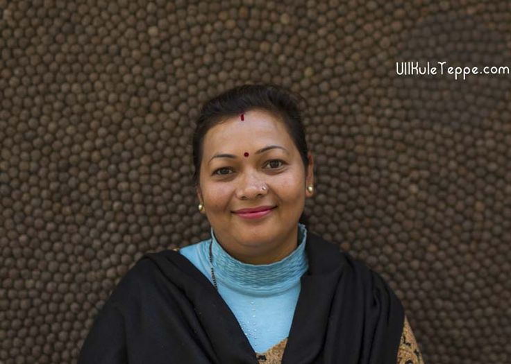 En av våre ansatte i Nepal.