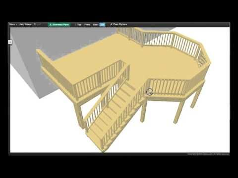 Decks.com. Free Plans & Deck Design Software| Design your own deck. | Download Plans| Free deck design