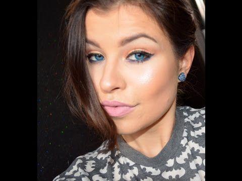 Moj codzienny makijaż+moje gadanie :) - YouTube