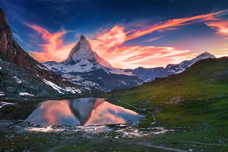 Matterhorn by İlhan Eroglu on 500px