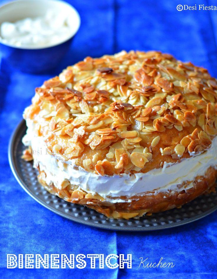 Bienenstich kuchen bee sting cake tried and true - Pinterest kuchen ...