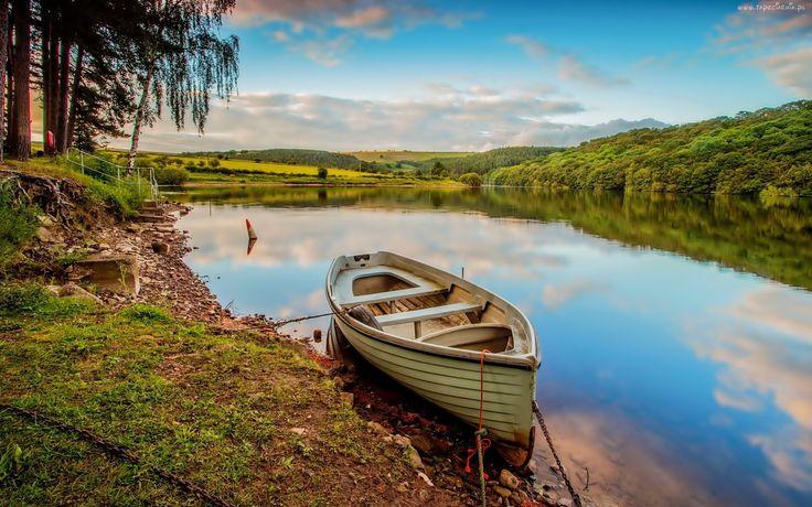 Łódka, Jezioro