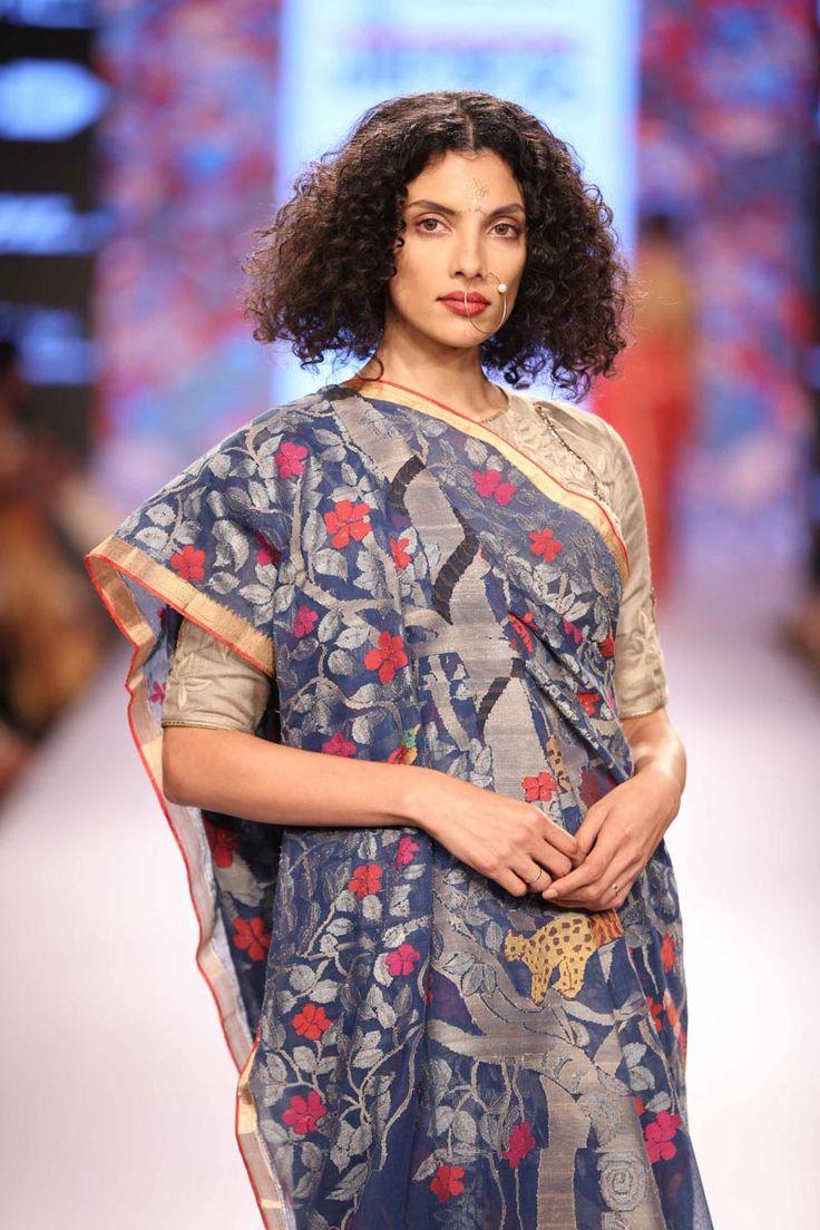 Gaurang Shah Saree from Lakme Fashion Week