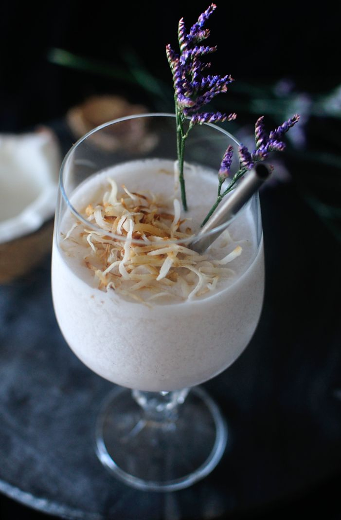 legion of bloom - a coconut, lavender, and cachaça cocktail | 10th Kitchen