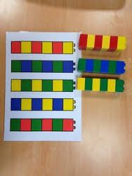 Intellectual disability lego activity preschool