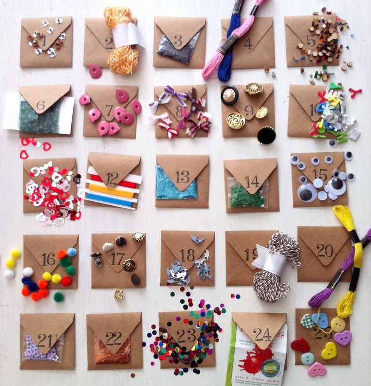25 days till Xmas Crafters Pack Advent Calendar by EcoMonster
