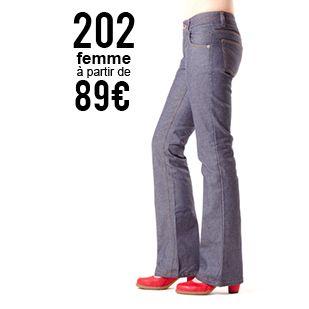 Jeans bootcut: patron à télécharger sur le site 1083.fr