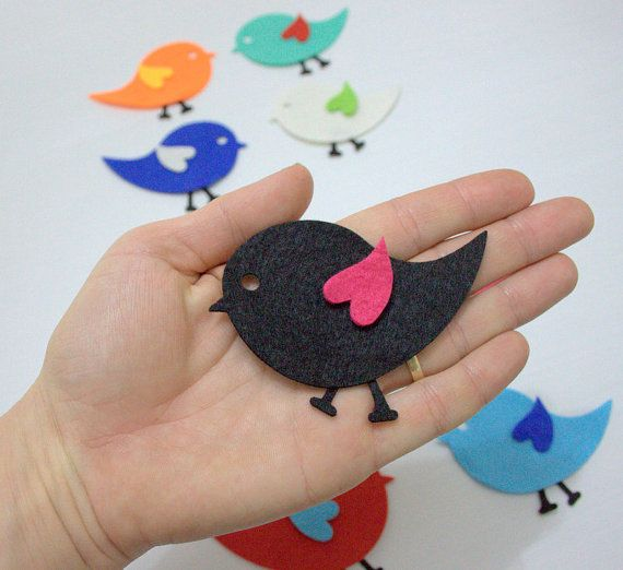 Check out this item in my Etsy shop https://www.etsy.com/listing/124878181/36-pieces-12-sets-die-cut-felt-winged