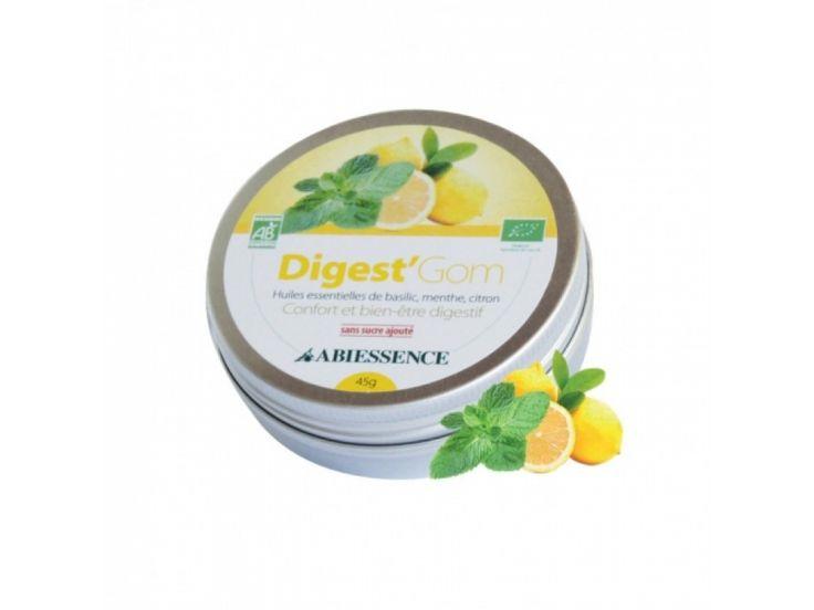 Digest Gom - bomboane bio gumate pt digestie usoara Abiessence, 45g. Gama completa de remedii Bio pentru dureri in gat, rau de miscare, dureri de cap. Produsele sunt disponibile prin comanda online la www.greenboutique.ro