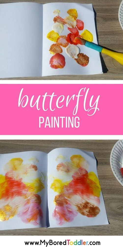 Butterfly Painting for Toddlers