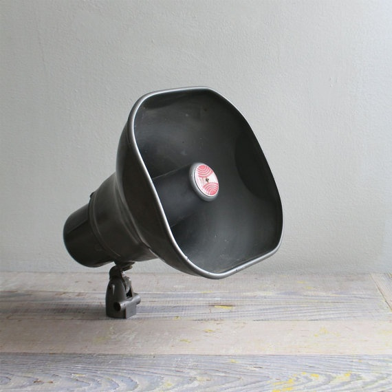 Vintage Atlas Loud Speaker