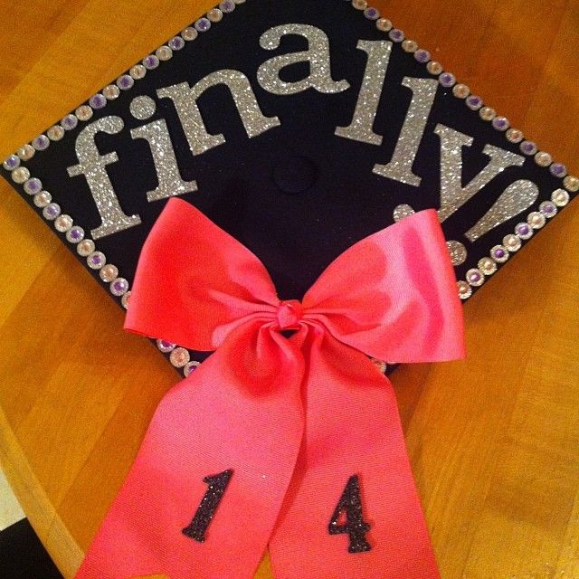 let's do this… #GraduationCap #Finally #Bow