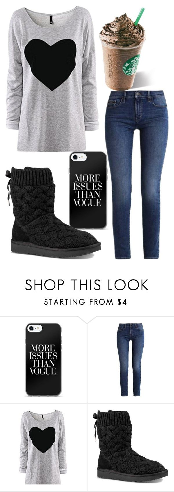 """""""Movie Date Outfit"""" by bhappygirlz ❤ liked on Polyvore featuring Calvin Klein and UGG"""