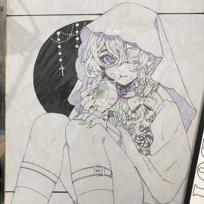 Otochi Comitia W 08 Otc So さん Twitter 色紙 イラスト アートリファレンス キャラクターデザイン