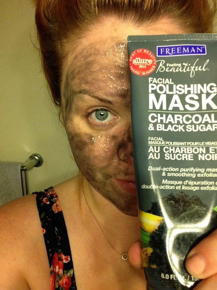 xoxo, bree: Friday Fave: Freeman Charcoal + Black Sugar Mask review. At home facial! Skin care.
