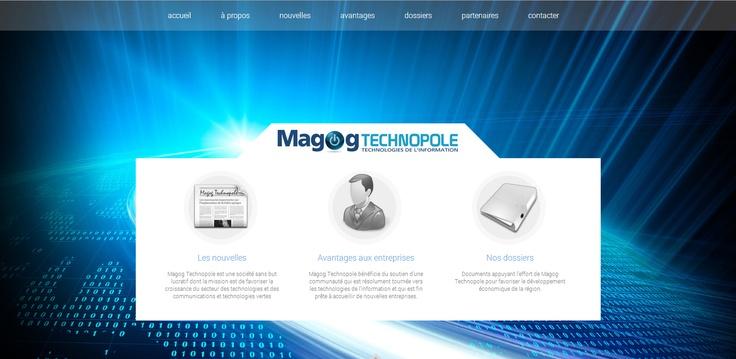 Lotus vous présente le nouveau site web de Magog Technopole! www.magogtechnopole.com