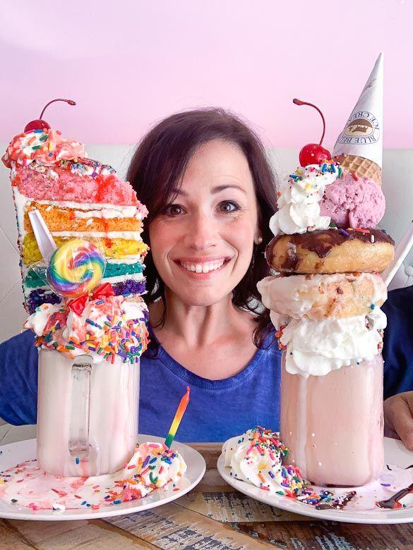 Adventure And Food In Birmingham Alabama Food Birthday Cake Milkshake Cute Desserts