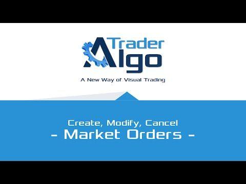 Working wit Market Orders