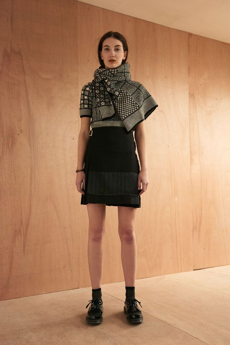 Le Kilt Fall 2016 Ready-to-Wear Fashion Show   http://www.theclosetfeminist.ca/  http://www.vogue.com/fashion-shows/fall-2016-ready-to-wear/le-kilt/slideshow/collection#11