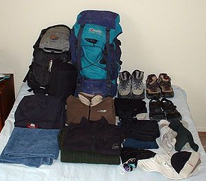 Packing for a New Zealand hiking adventure - won't need food but good advice for how to pack the backpack