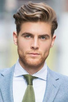 Classy Hairstyles For Men & Guys #hairstyle #grooming #mens fashion #style
