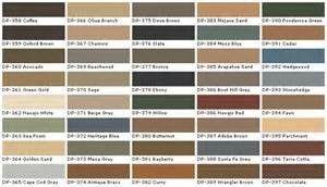 nice behr paint colors exterior color charts #3 - Behr Deck Over Paint Color Chart