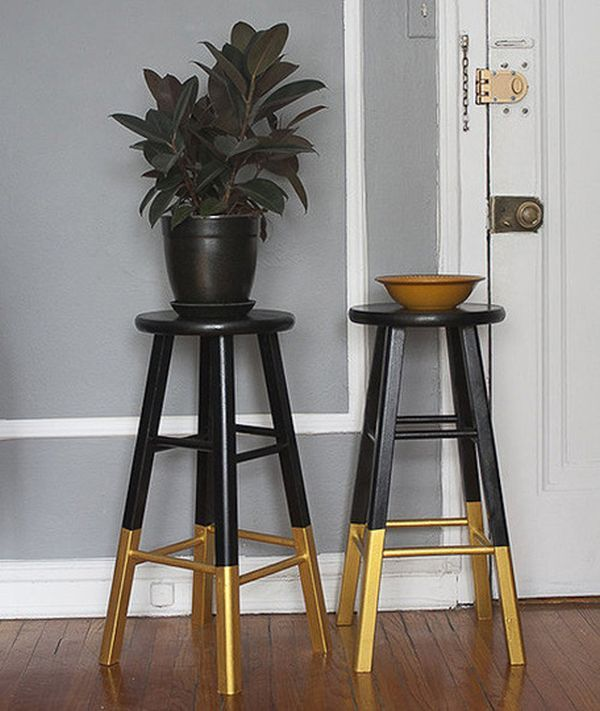 Paint-Dipped Furniture Designs –The New Trend For 2013. Red and black!