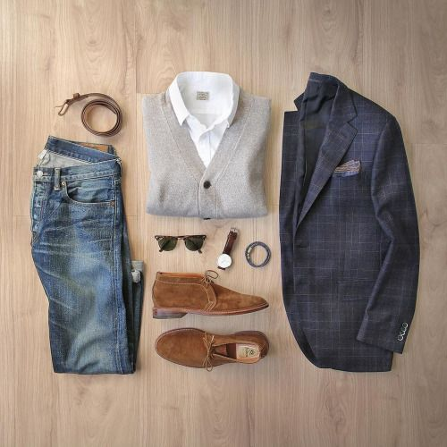 Outfit ideas for men Follow MenStyle1.com...   MenStyle1- Men's Style Blog