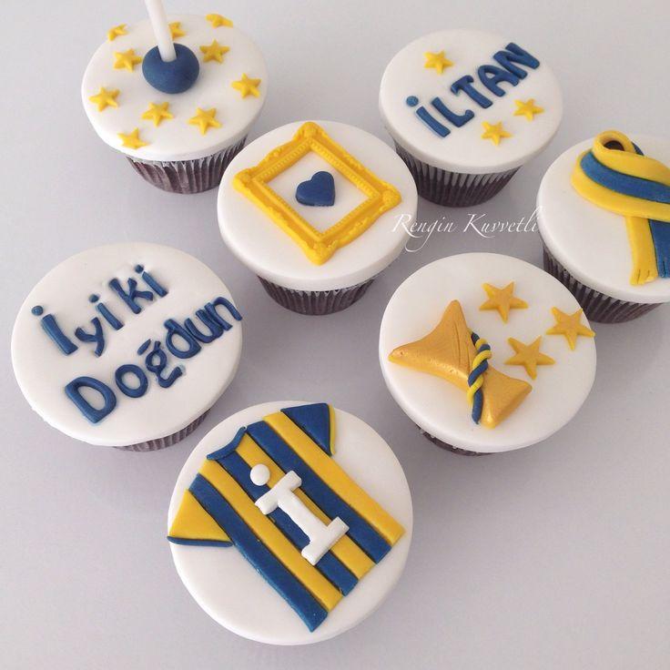Takım Cupcakeleri / Football Team Cupcakes