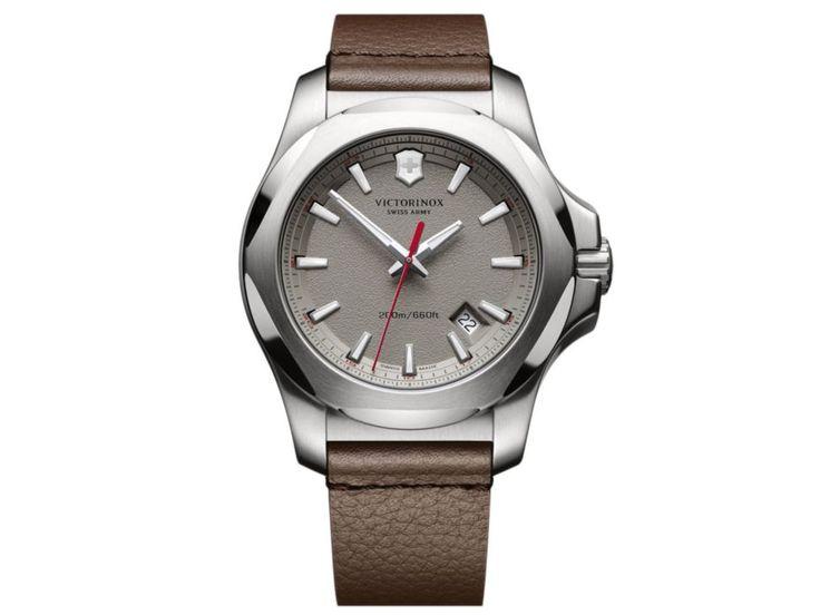Victorinox Swiss Army I.N.O.X. 241738 Reloj para Caballero Color Café